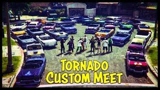 "GTA 5 Online NEW ""Tornado Custom"" Car Show! (Best Looking Cars)"