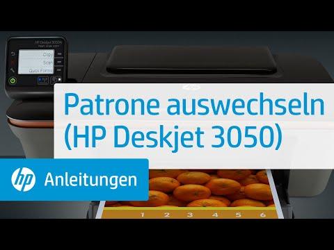 Patrone auswechseln (HP Deskjet 3050)
