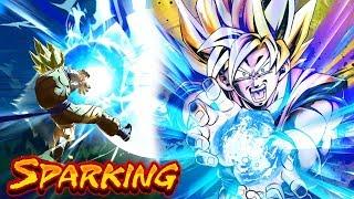 SP Super Saiyan Goku (Instant Transmission) Showcase - Dragon Ball Legends