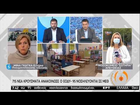 Κορονοϊός   Αυξάνονται τα κρούσματα στο προσωπικό των νοσοκομείων   27/10/2020   ΕΡΤ