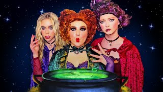 Giant HOCUS POCUS Movie In Real Life For 24 Hours 🎃 | Piper Rockelle