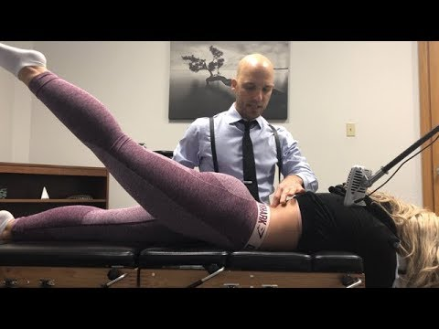 Nursing Student's SPINE ERUPTION ~ First Time Full Body Chiropractic Adjustment.