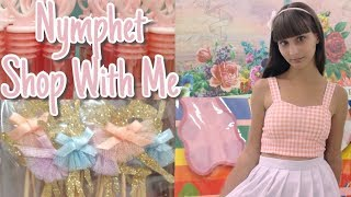 NYMPHET Shop With Me ♡ Michaels ♡ Kawaii Fashion Aesthetic