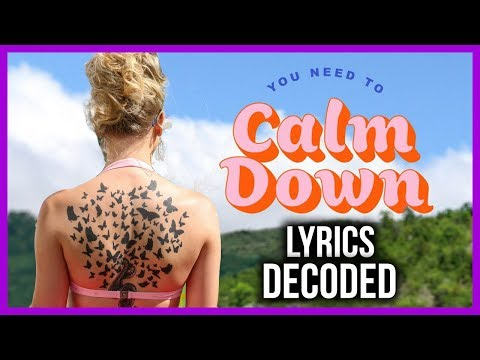 "DECODING Taylor Swift ""You Need to Calm Down"" Lyrics, Music Video Theories - Song Reaction"