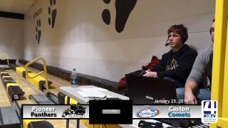 Pioneer Boys Basketball vs Caston