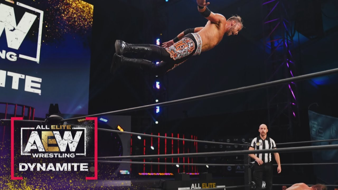 Christian Cage Makes AEW In-Ring Debut