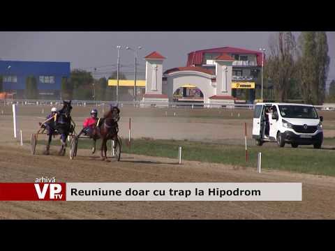 Reuniune doar cu trap la Hipodrom