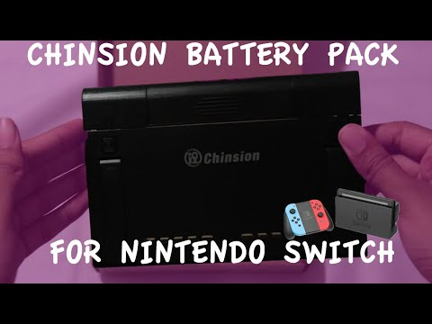 Chinsion Portable Battery for the Nintendo Switch Review