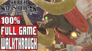 SUPER SMASH BROS ULTIMATE World of Light Full Game Walkthrough - No Commentary (Smash Bros Ultimate)