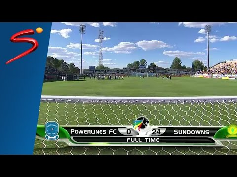 Video: Throwback: Sundowns beat Powerlines 24-0