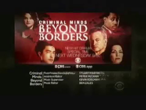 Criminal Minds: Beyond Borders 1.10 - 1.11 (Preview)