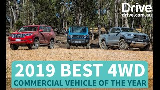 2019 Best 4WD | Toyota Prado v Suzuki Jimny v Ford Ranger Raptor