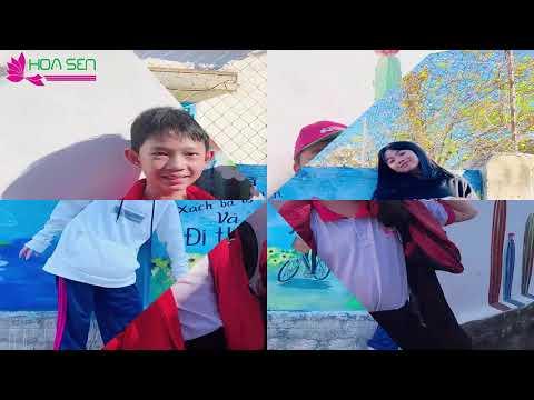 Khối THCS,THPT Hoa Sen tham quan làng Bích Họa Hòn Thiên