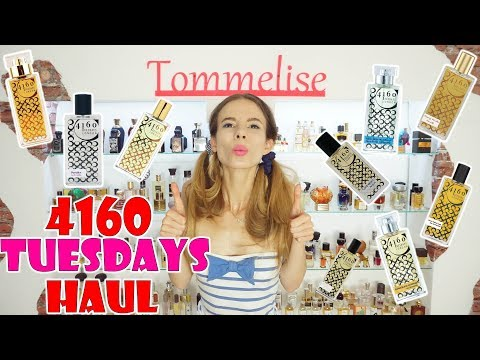 4160 TUESDAYS PERFUME HAUL (HUGE!) | Tommelise