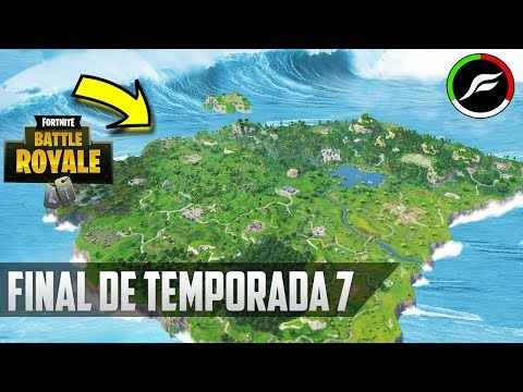 FINAL DE TEMPORADA 7 TERREMOTO CON TSUNAMI FORTNITE TEMPORADA 7
