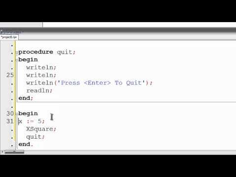 Free Pascal Program Tutorial 28 - Running External Programs