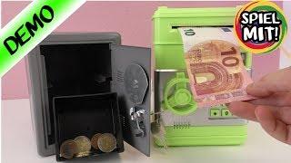 BESTER TRICK UM GELD SICHER ZU VERSTECKEN! Geldautomat für Zuhause & Spartresor mit Code - Spardose