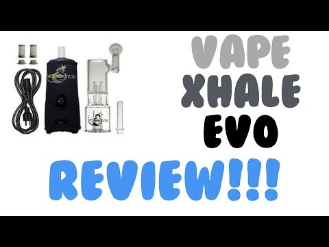 VapeXhale Evo Review! 😍 desktop convection vaporizer ♚