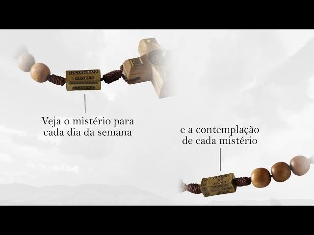 Terço dos Mistérios do Rosário Imbuia Com Fé Brasil