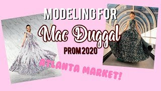 Modeling For Mac Duggal Prom 2020