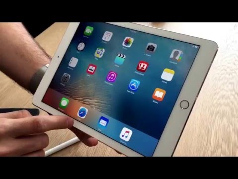 9.7 inch iPad Pro: first hands-on look