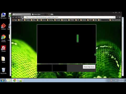Learn HTML5 Snake Game from Scratch - Part 8