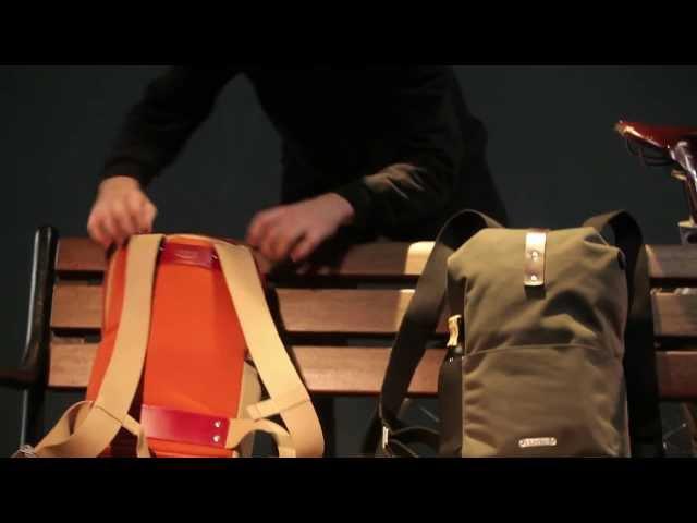 Видео Рюкзак Brooks Dalston 12lt Green Fleck/Honey