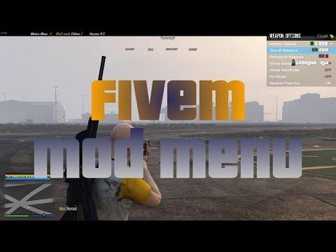FiveM bypass + modmenu +admin menu + lua +unban hack 2019/03/17