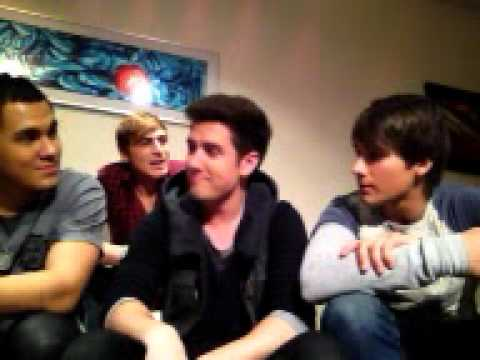 Big Time Rush - Ustream Chat - 11/9/11 Full