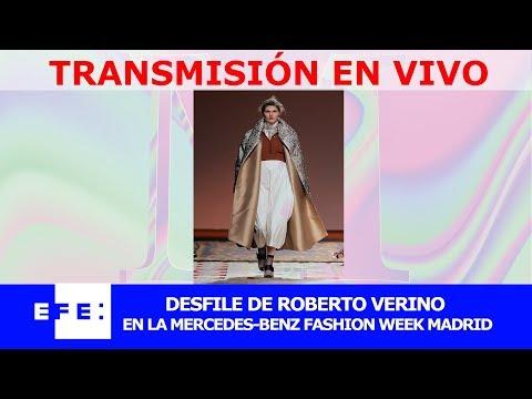 Roberto Verino desfila el la 69 edición de MBFWMadrid