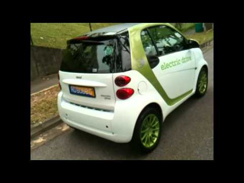 smart fortwo electric drive Video