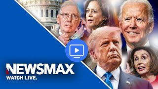 LIVE NOW: Newsmax TV Live Stream