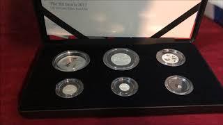 The Smashing 2017 Britannia 6 Coin Silver Proof Set!
