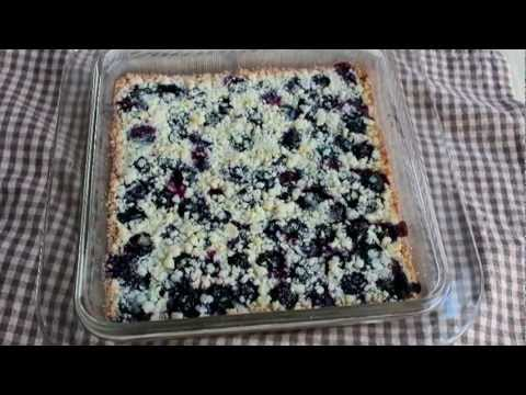 Blueberry Shortbread Bars – Easy Summer Fruit Shortbread Cookie Bars