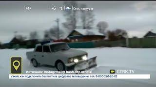 Уфимские «Кулибины» переоборудовали старенький «Москвич» в снегоуборочную технику