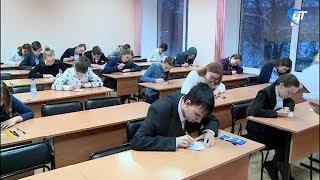 Новгородские школьники написали олимпиаду по русскому языку