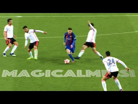 Download When Lionel Messi Dribbles Past Everyone - Vs 3 Or More Players - HD HD Mp4 3GP Video and MP3