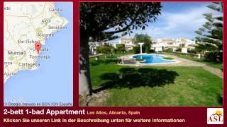 preview picture of video '2-bett 1-bad Appartment zu verkaufen in Los Altos, Alicante, Spain'