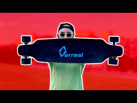 BEST ELECTRIC SKATEBOARD FOR CARVING (Verreal F1 Review)