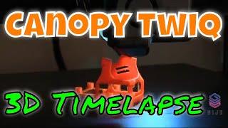 FPV Canopy Twig | Timelapse 3D Print | Artillery Sidewinder X1