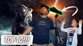 Top 10 Things To See With Celestron Skymaster 25x70 Binoculars!!!