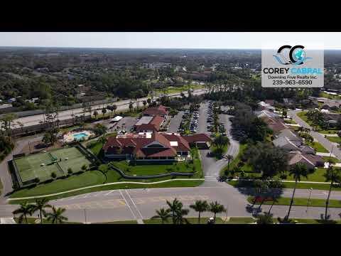 Royal Wood Golf & Country Club Naples FL 360 Aerial Real Estate Homes & Condos