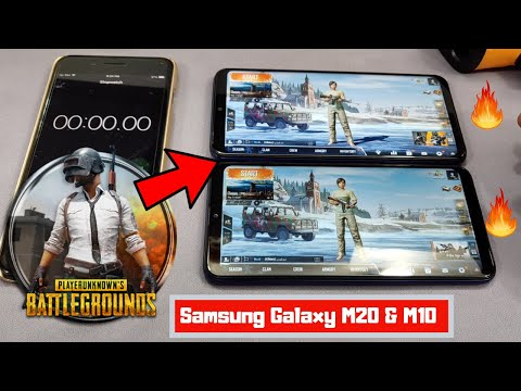 Samsung Galaxy M20 & Samsung Galaxy M10 Pubg Mobile Review | Samsung M20 & M10 Gaming Review