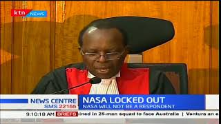 NASA kicked out of the petition challenging President Uhuru's win
