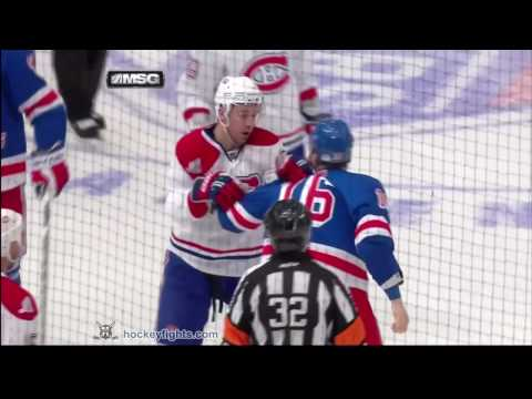 Sean Avery vs. Josh Gorges
