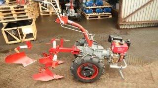 Мотоблок мотор сич МБ-6Э дизель от компании ПКФ «Электромотор» - видео 2