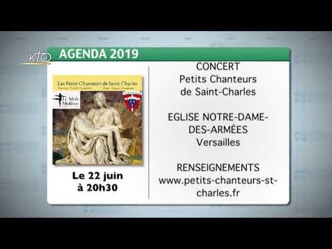 Agenda du 3 juin 2019