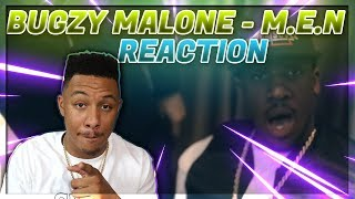 Bugzy Malone   M.E.N (Official Video) | @TheBugzyMalone | Link Up TV REACTION VIDEO