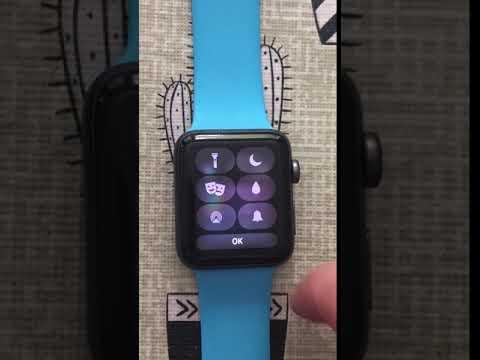 Personalizar centro de control en watchOS 5