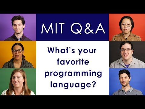 Favorite programming languages of MIT Computer Scientists